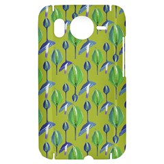 Tropical Floral Pattern HTC Desire HD Hardshell Case