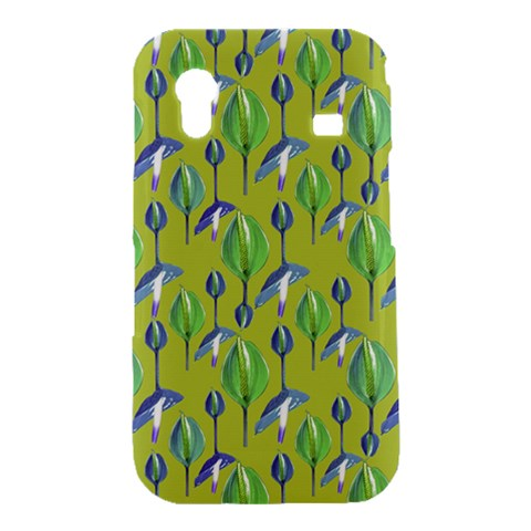Tropical Floral Pattern Samsung Galaxy Ace S5830 Hardshell Case