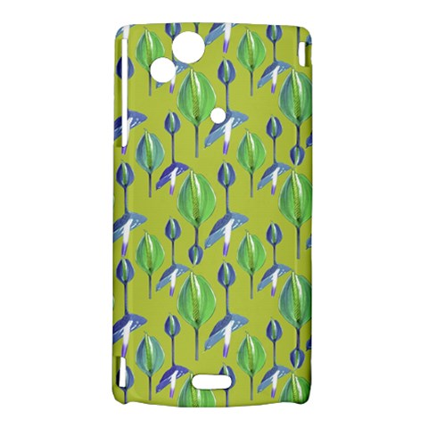 Tropical Floral Pattern Sony Xperia Arc