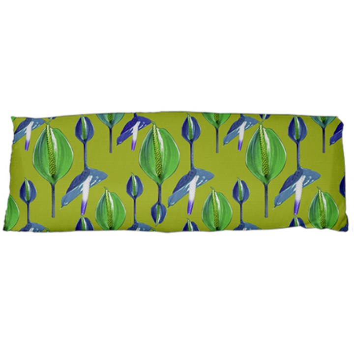 Tropical Floral Pattern Body Pillow Case (Dakimakura)