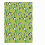 Tropical Floral Pattern Small Garden Flag (Two Sides) Front