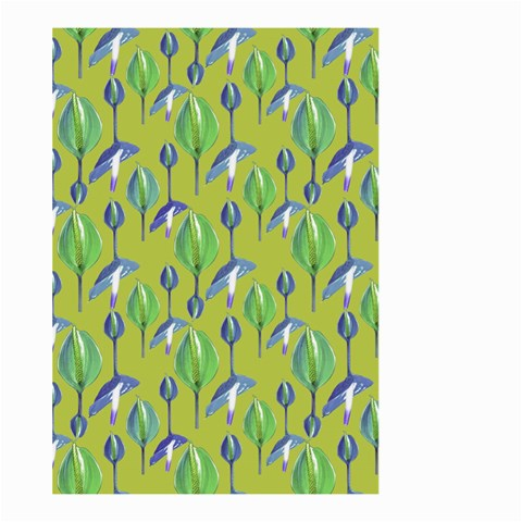 Tropical Floral Pattern Large Garden Flag (Two Sides)
