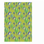 Tropical Floral Pattern Large Garden Flag (Two Sides) Back