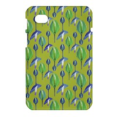 Tropical Floral Pattern Samsung Galaxy Tab 7  P1000 Hardshell Case