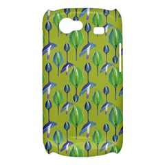 Tropical Floral Pattern Samsung Galaxy Nexus S i9020 Hardshell Case