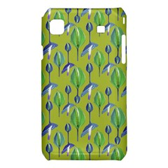 Tropical Floral Pattern Samsung Galaxy S i9008 Hardshell Case