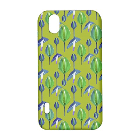 Tropical Floral Pattern LG Optimus P970