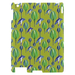 Tropical Floral Pattern Apple iPad 2 Hardshell Case