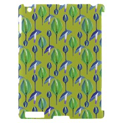 Tropical Floral Pattern Apple iPad 2 Hardshell Case (Compatible with Smart Cover)