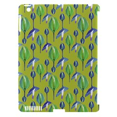 Tropical Floral Pattern Apple Ipad 3/4 Hardshell Case (compatible With Smart Cover)