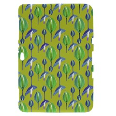 Tropical Floral Pattern Samsung Galaxy Tab 8.9  P7300 Hardshell Case