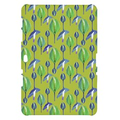 Tropical Floral Pattern Samsung Galaxy Tab 10.1  P7500 Hardshell Case