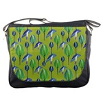 Tropical Floral Pattern Messenger Bags Front