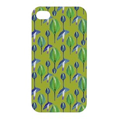 Tropical Floral Pattern Apple iPhone 4/4S Premium Hardshell Case