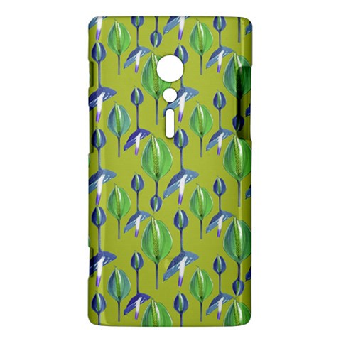 Tropical Floral Pattern Sony Xperia ion