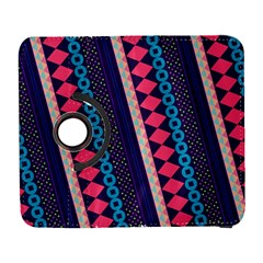 Purple And Pink Retro Geometric Pattern Samsung Galaxy S  III Flip 360 Case