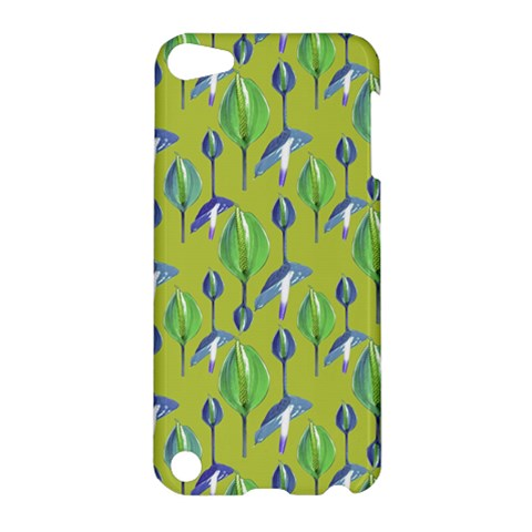 Tropical Floral Pattern Apple iPod Touch 5 Hardshell Case