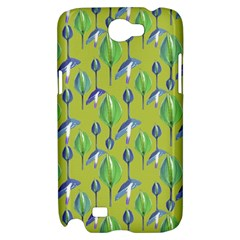 Tropical Floral Pattern Samsung Galaxy Note 2 Hardshell Case
