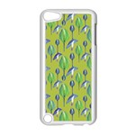 Tropical Floral Pattern Apple iPod Touch 5 Case (White) Front
