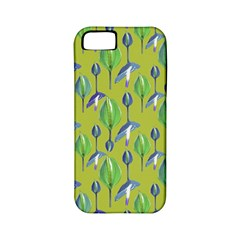 Tropical Floral Pattern Apple iPhone 5 Classic Hardshell Case (PC+Silicone)