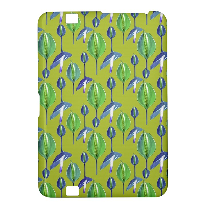 Tropical Floral Pattern Kindle Fire HD 8.9