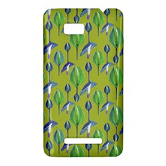 Tropical Floral Pattern HTC One SU T528W Hardshell Case