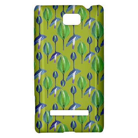 Tropical Floral Pattern HTC 8S Hardshell Case