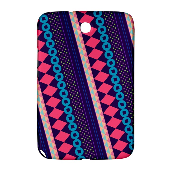 Purple And Pink Retro Geometric Pattern Samsung Galaxy Note 8.0 N5100 Hardshell Case