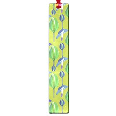Tropical Floral Pattern Large Book Marks