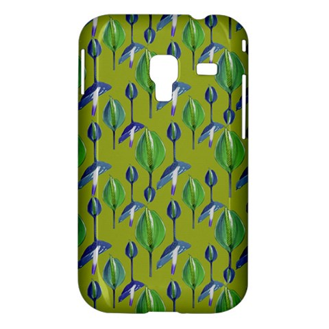 Tropical Floral Pattern Samsung Galaxy Ace Plus S7500 Hardshell Case