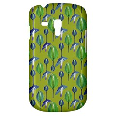 Tropical Floral Pattern Samsung Galaxy S3 MINI I8190 Hardshell Case