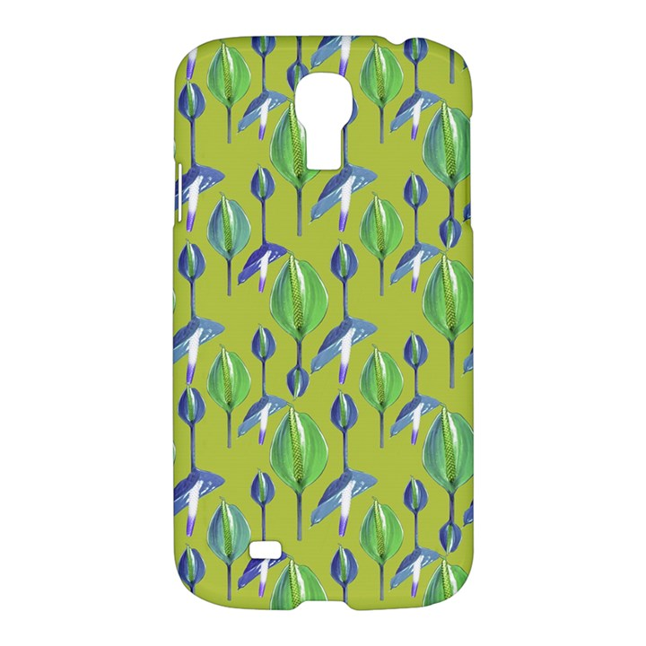 Tropical Floral Pattern Samsung Galaxy S4 I9500/I9505 Hardshell Case