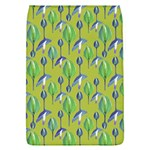 Tropical Floral Pattern Flap Covers (L)  Front