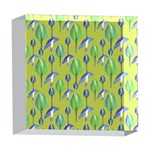 Tropical Floral Pattern 5  x 5  Acrylic Photo Blocks Front