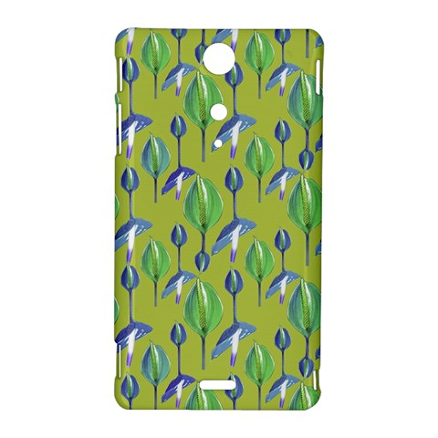 Tropical Floral Pattern Sony Xperia TX