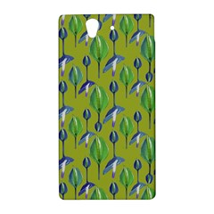 Tropical Floral Pattern Sony Xperia Z