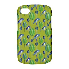Tropical Floral Pattern BlackBerry Q10