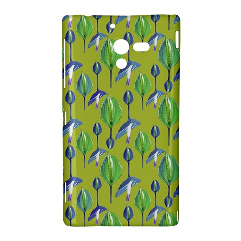 Tropical Floral Pattern Sony Xperia ZL (L35H)