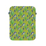 Tropical Floral Pattern Apple iPad 2/3/4 Protective Soft Cases Front