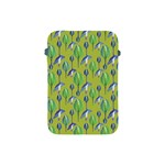 Tropical Floral Pattern Apple iPad Mini Protective Soft Cases Front