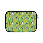 Tropical Floral Pattern Apple iPad Mini Zipper Cases Front