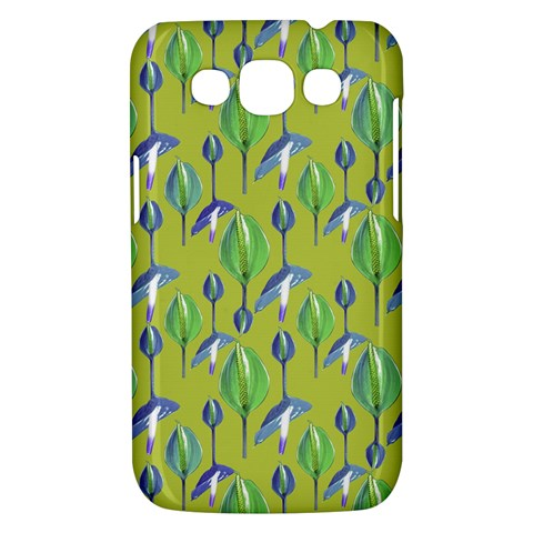 Tropical Floral Pattern Samsung Galaxy Win I8550 Hardshell Case