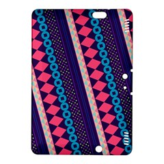 Purple And Pink Retro Geometric Pattern Kindle Fire Hdx 8 9  Hardshell Case