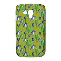 Tropical Floral Pattern Samsung Galaxy Duos I8262 Hardshell Case