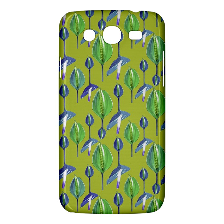 Tropical Floral Pattern Samsung Galaxy Mega 5.8 I9152 Hardshell Case