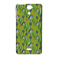Tropical Floral Pattern Sony Xperia V