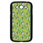 Tropical Floral Pattern Samsung Galaxy Grand DUOS I9082 Case (Black) Front