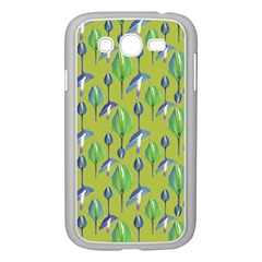 Tropical Floral Pattern Samsung Galaxy Grand DUOS I9082 Case (White)