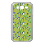 Tropical Floral Pattern Samsung Galaxy Grand DUOS I9082 Case (White) Front