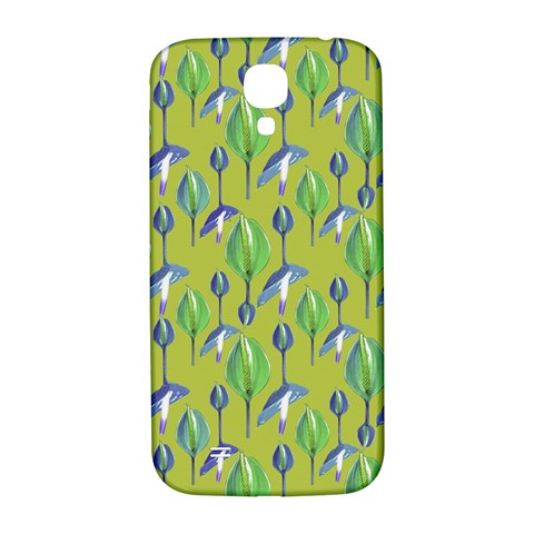 Tropical Floral Pattern Samsung Galaxy S4 I9500/I9505  Hardshell Back Case